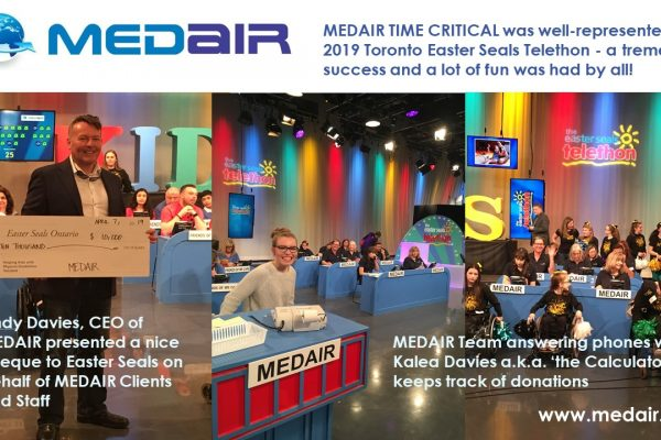Medair's Easter Seals Donation